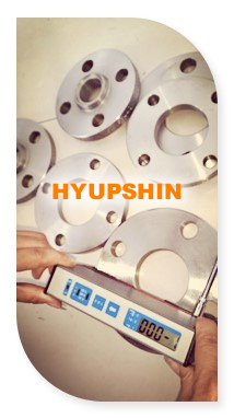 flange roughness testing, jinan hyupshin flanges co., ltd